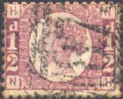 1870 ½d Rose SG48 Plate 5 'NH'
